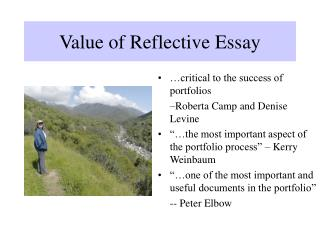Value of Reflective Essay