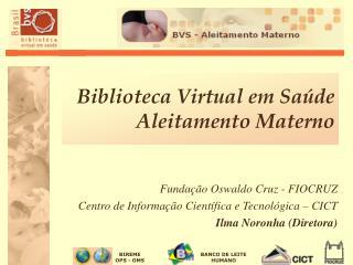 Biblioteca Virtual em Sa de Aleitamento Materno
