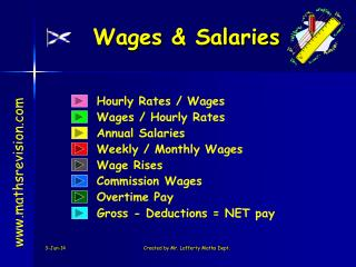 Wages  Salaries
