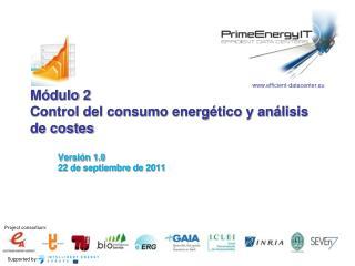M dulo 2 Control del consumo energ tico y an lisis de costes