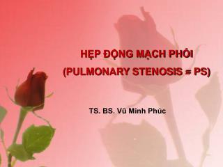 HP  NG MCH PHI PULMONARY STENOSIS  PS