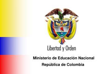 Ministerio de Educaci n Nacional