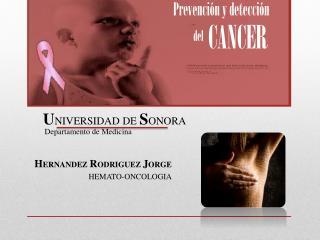HERNANDEZ RODRIGUEZ JORGE HEMATO-ONCOLOGIA