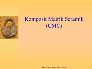 Komposit Matrik Seramik CMC