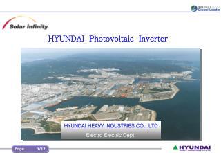 HYUNDAI  Photovoltaic  Inverter
