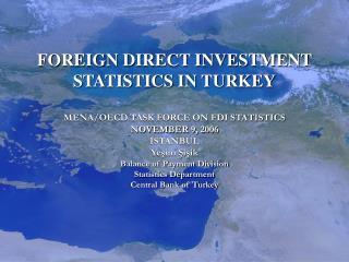 FOREIGN DIRECT INVESTMENT STATISTICS IN TURKEY  MENA