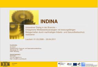 Koordination: ffw GmbH  Gesellschaft f r Personal- und Organisationsentwicklung Allersberger Str. 185
