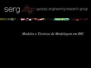 Modelos e T cnicas de Modelagem em IHC