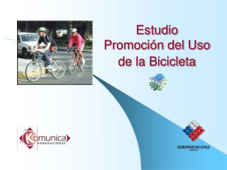 Estudio  Promoci n del Uso de la Bicicleta