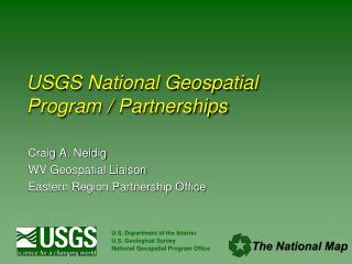 USGS National Geospatial Program