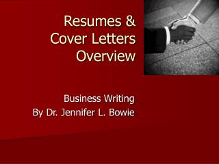 Resumes   Cover Letters  Overview