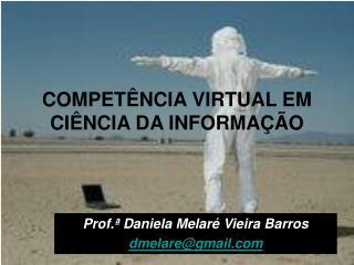 COMPET NCIA VIRTUAL EM CI NCIA DA INFORMA  O