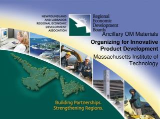 Ancillary OM Materials Organizing for Innovative Product Development Massachusetts Institute of Technology