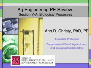 Ag Engineering PE Review: