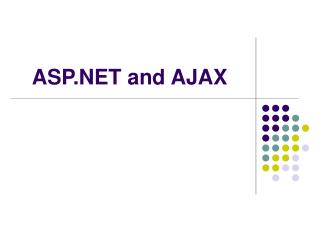 ASP and AJAX