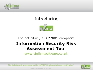 Information Security IS   ISO