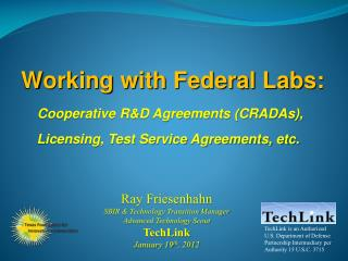 Working with Federal Labs: