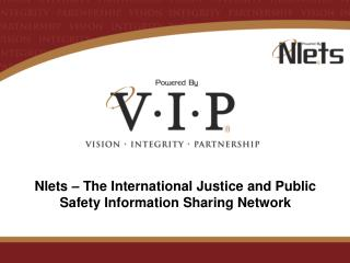 Nlets   The International Justice and Public Safety Information Sharing Network