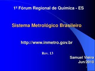 Sistema Metrol gico Brasileiro    inmetro.br