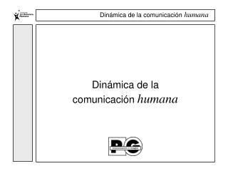 Din mica de la comunicaci n humana