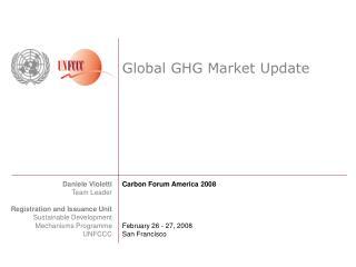 Global GHG Market Update