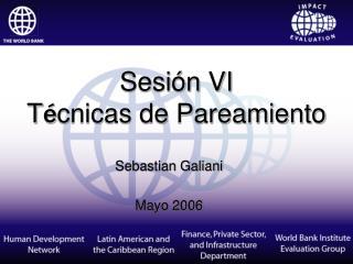Sebastian Galiani  Mayo 2006