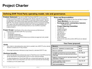 ppt project charter powerpoint presentation id 757532