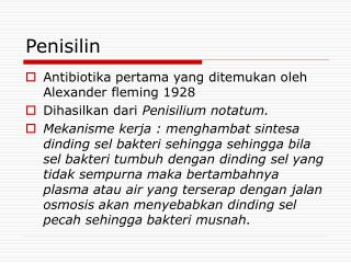 Penisilin