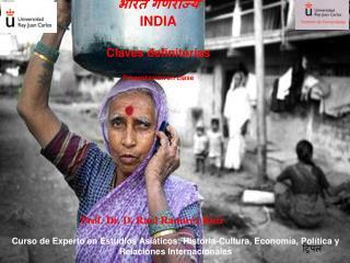 INDIA  Claves definitorias  Presentaci n en clase