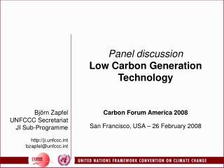 CDM - UNFCCC
