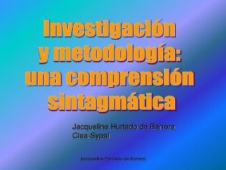 Jacqueline Hurtado de Barrera