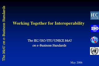 Working Together for Interoperability