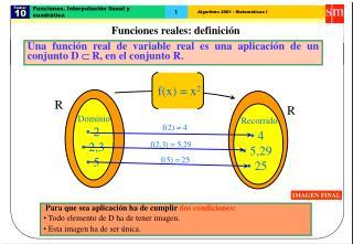 Funciones. Interpolaci n lineal y cuadr tica