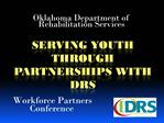 Serving youth through partnerships with Drs