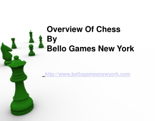 Overview Of Chess