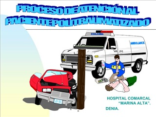 HOSPITAL COMARCAL  MARINA ALTA . DENIA.
