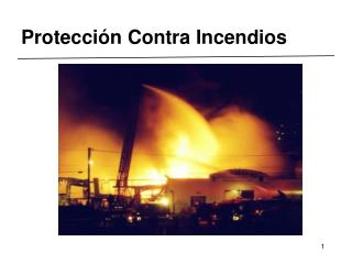 Protecci n Contra Incendios