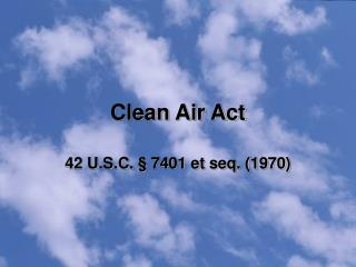 Clean Air Act