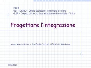 Progettare l integrazione