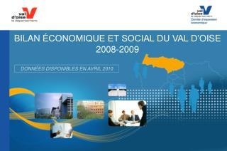 BILAN  conomique et social du val d oise      2008-2009