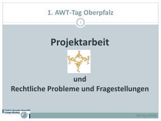 1. AWT-Tag Oberpfalz