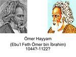 mer Hayyam Ebu l Feth  mer bin Ibrahim 1044-1122