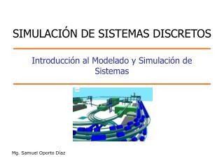 Introducci n al Modelado y Simulaci n de Sistemas