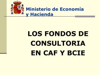 Ministerio de Econom a y Hacienda