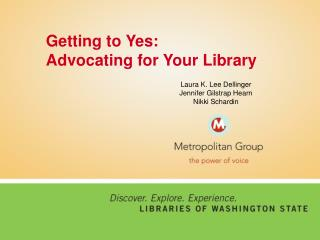 Getting to Yes: Advocating for Your Library