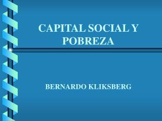 Bernardo Kliksberg