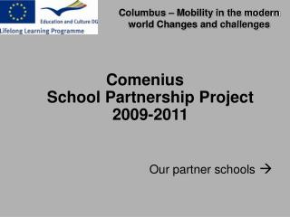 Columbus   Mobility in the modern world Changes and challenges