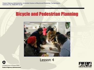 Bicycle and Pedestrian Planning