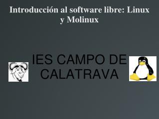 Introducci n al software libre: Linux y Molinux