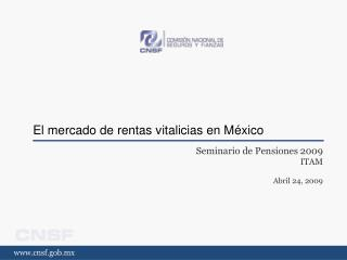 El mercado de rentas vitalicias en M xico
